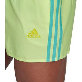 adidas 3S CLX Versatile Shorts Men, amarillo